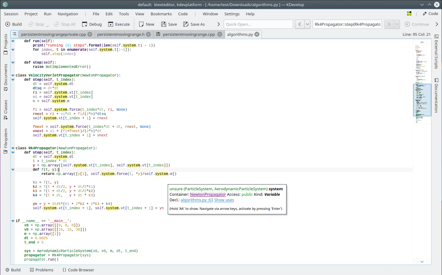 A cross-platform IDE for C, C++, Python, QML/JavaScript and